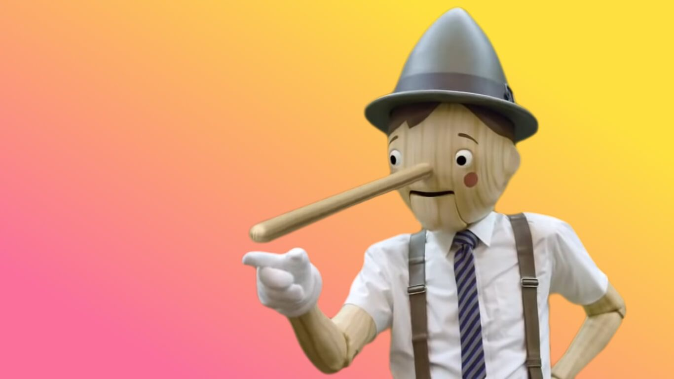 The GEICO Pinocchio